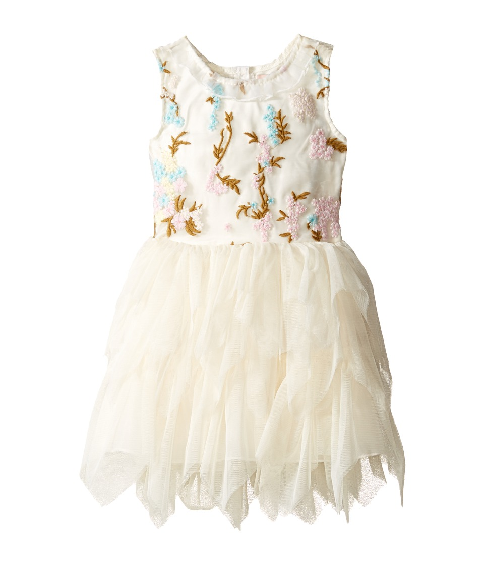 Nanette Lepore Kids - Embroidered Bodice Ballerina Dress