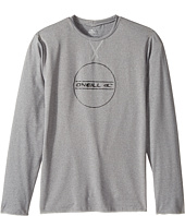 O'Neill Kids - 24-7 Hybrid Long Sleeve Tee (Little Kids/Big Kids)