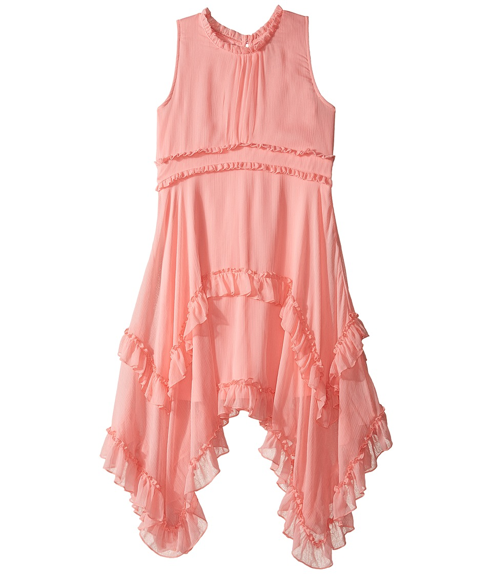 Nanette Lepore Kids - Crinkled Chiffon Dress