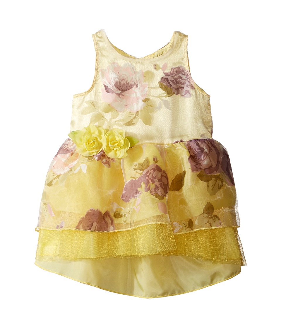 Nanette Lepore Kids - Printed Organza w/ Tulle Dress