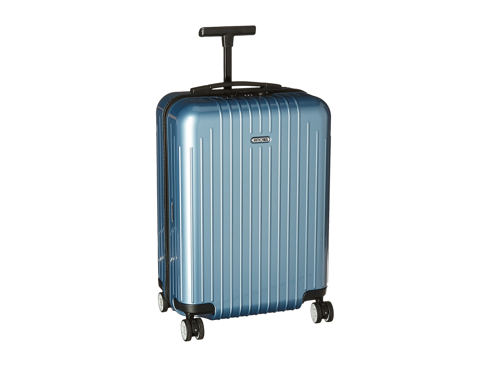 rimowa salsa air cabin multiwheel 53cm ice blue free shipping both ways. Black Bedroom Furniture Sets. Home Design Ideas