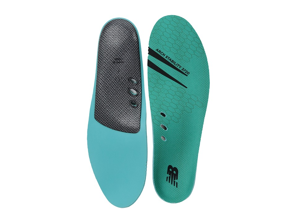 New Balance Arch Stability Insole (Teal) Insoles Accessor...