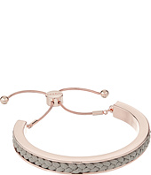 GUESS - Braided Cord Inset Slider Bracelet