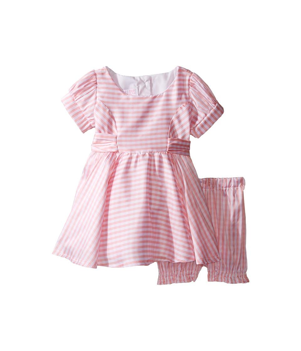 1940s Children's Clothing: Girls, Boys, Baby, Toddler fiveloaves twofish - Lola Gingham Dress Infant Pink Gingham Girls Dress $68.00 AT vintagedancer.com
