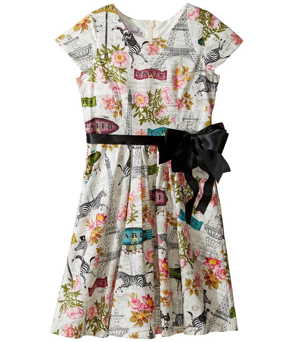 b5f17d038b01 $60.99 More Details · fiveloaves twofish - Wild in Paris Fit N Flare Dress  (Little Kids/Big Kids