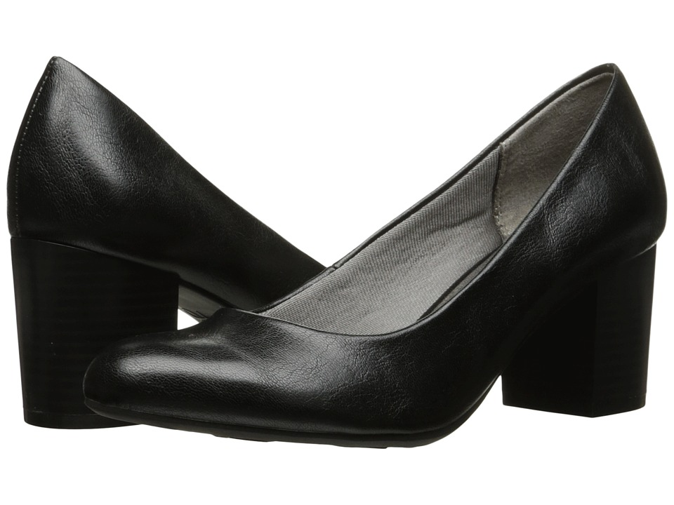 LifeStride Parigi Block (Black) Women's  Shoes