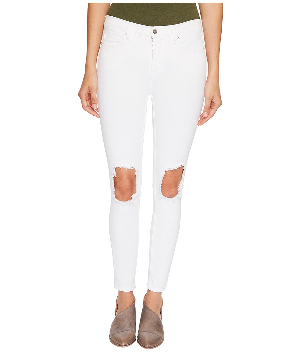Free People Jeans Busted Skinny in White (White) Women