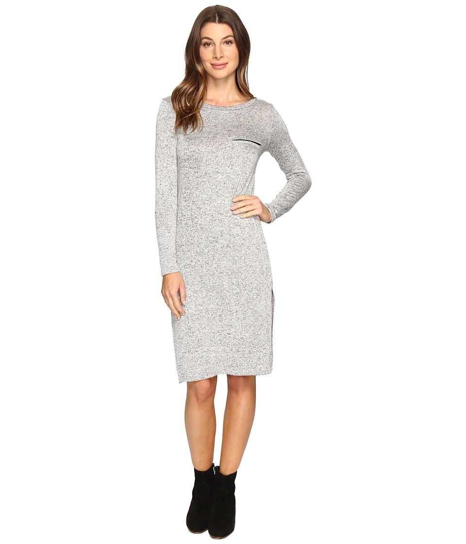 Culture Phit Angelina Knit Dress (Heather Grey) Women