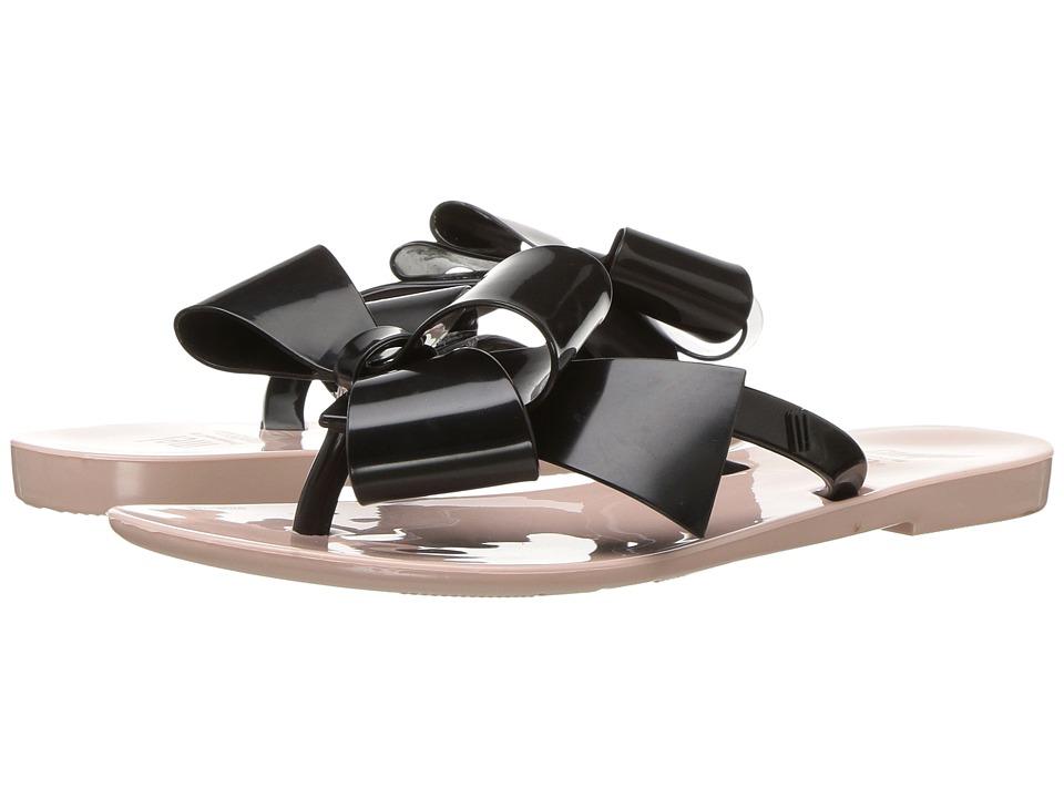 Mini Melissa - Mel Harmonic Bow III (Little Kid) (Light Pink/Black) Girls Shoes
