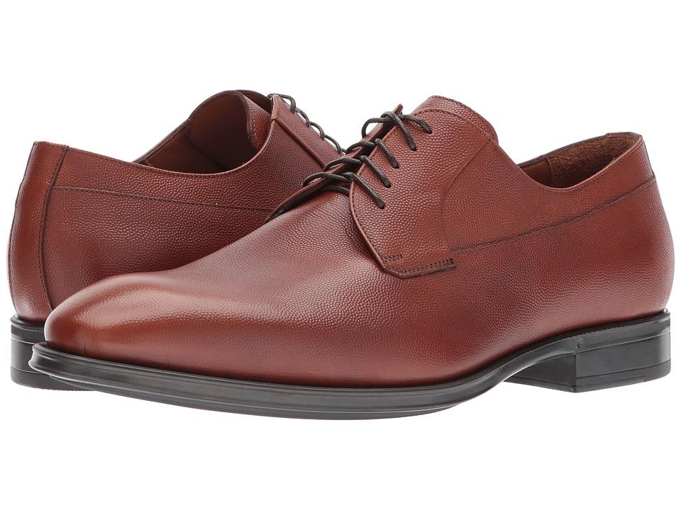 Aquatalia - Decker (Cognac Scotch Grain) Mens Shoes