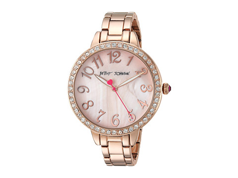 Betsey Johnson BJ00552-07 - Rose Gold Crystal Face - Rose Gold