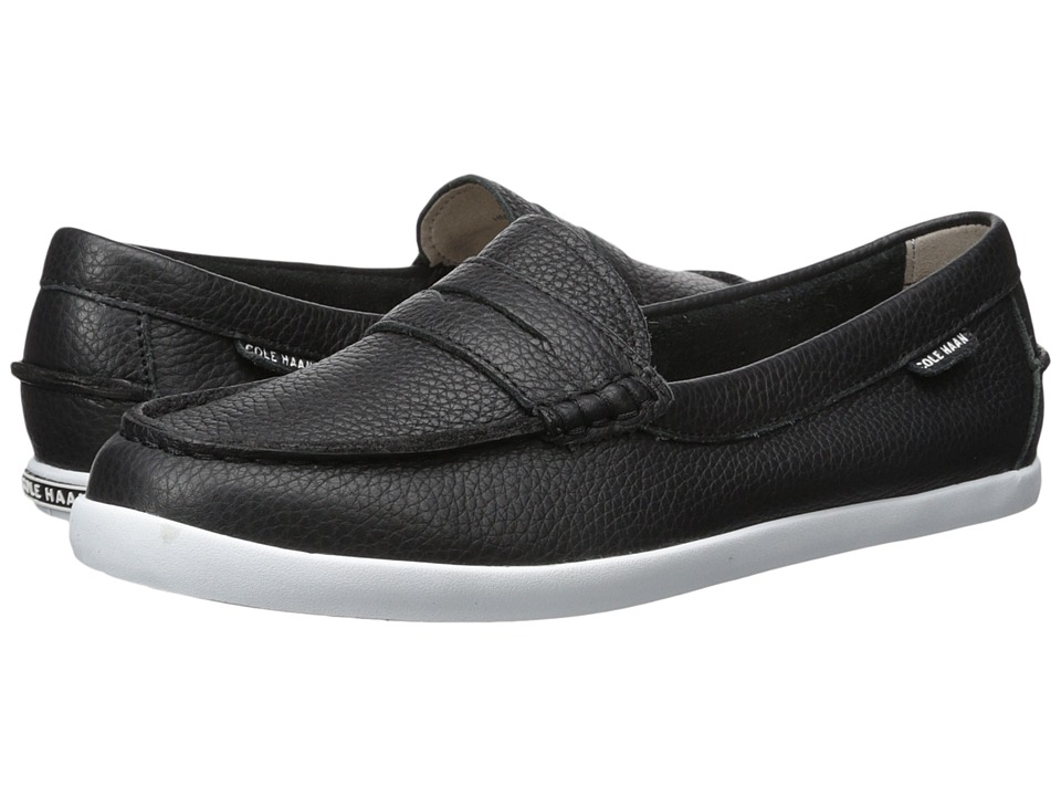 Cole Haan - Pinch Weekender (Black/White) Womens Slip on  Shoes