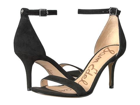 Sam Edelman Patti - Black Kid Suede Leather