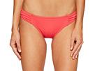 Pearl Side-Shirred Hipster Bikini Bottom