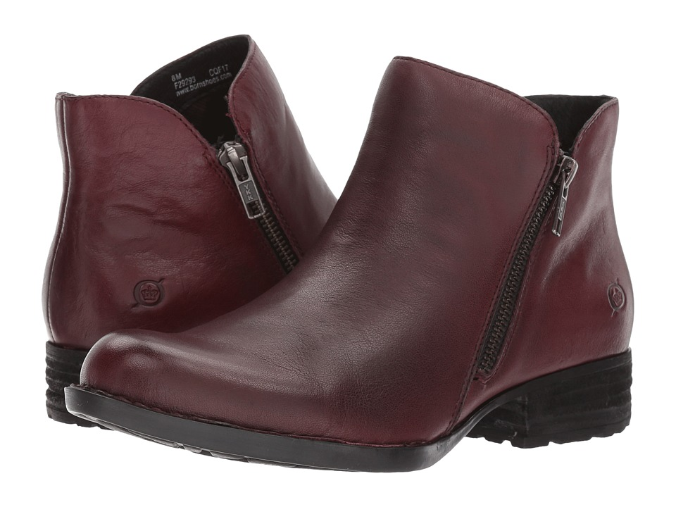 Born Keefe (Burgundy Full Grain) Women