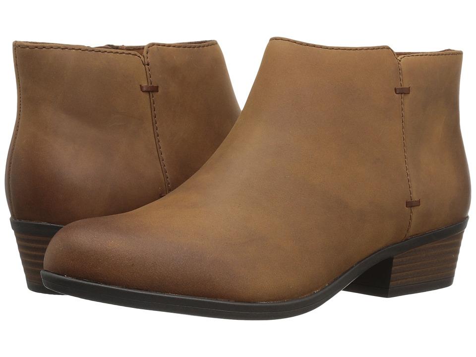 Clarks Addiy Zora (Tan Leather) Women
