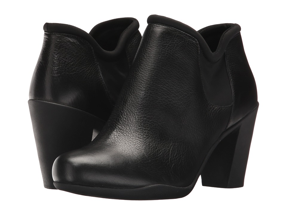 Clarks Adya Bella (Black Leather) Women