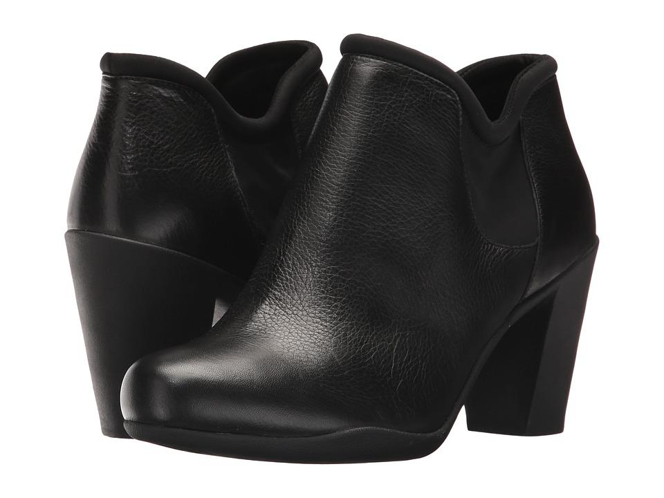 Clarks Adya Bella (Black Leather) Women