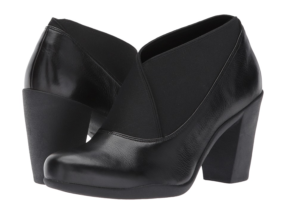 Clarks Adya Luna (Black Leather) Women
