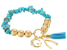 GUESS - Stretch Bracelet with G, Wishbone and Tassel