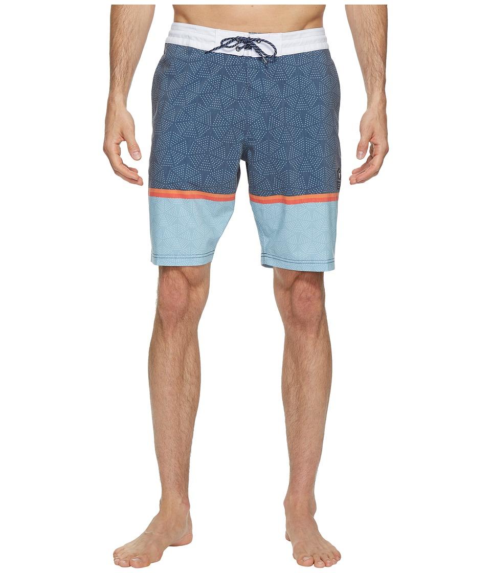 VISSLA Krakatoa Four-Way Stretch Boardshorts 20 (Dark Navy) Men