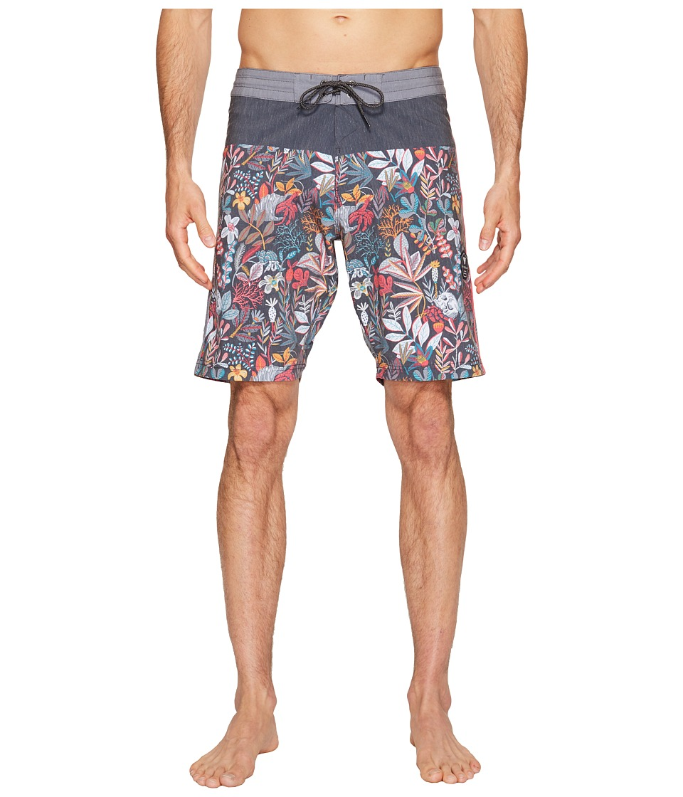 VISSLA Aqua Garden Four-Way Stretch Boardshorts 20 (Phantom) Men