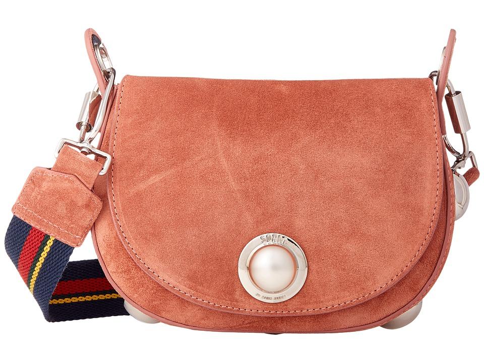 Sonia by Sonia Rykiel - Suede Leather Saddle Bag