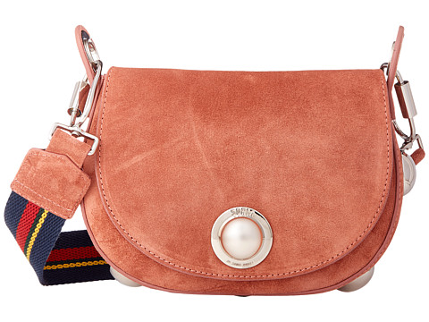 Sonia by Sonia Rykiel Suede Leather Saddle Bag