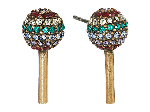 Marc Jacobs Lollipop Studs Earrings - Antique Gold