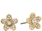 Marc Jacobs - MJ Coin Flower Stud Earrings