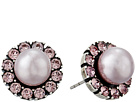 Marc Jacobs - Small Strass Pearl Studs Earrings