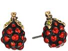 Marc Jacobs Raspberry Studs Earrings