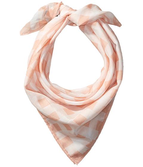 rag & bone Gingham Bandana - Peach Multi