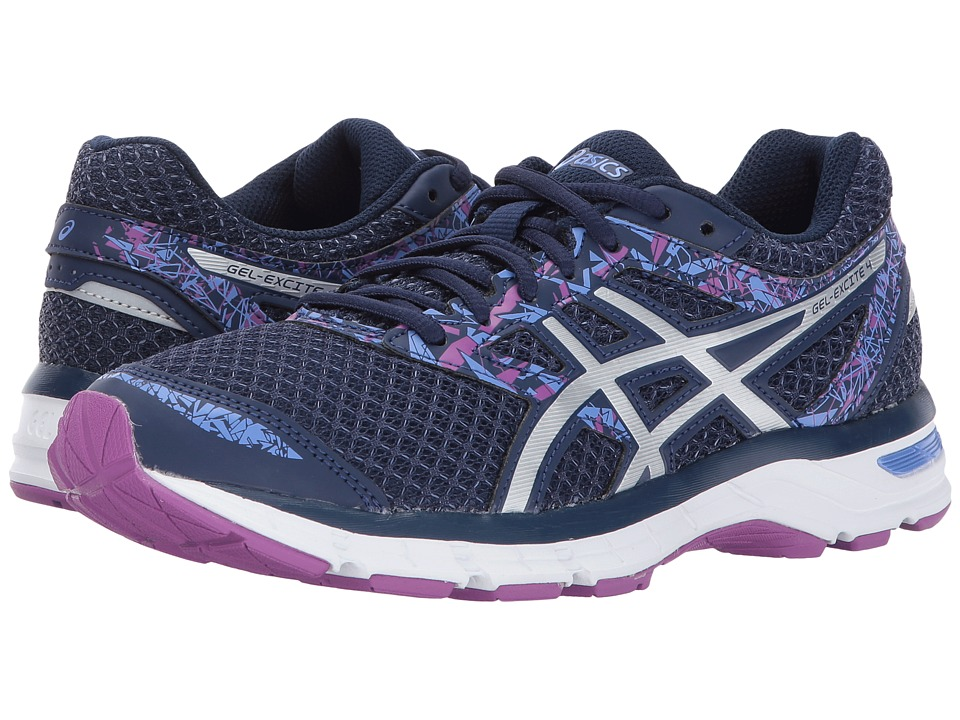 ASICS - Gel-Excite(r) 4 (Indigo Blue/Blue/Orchid) Womens Running Shoes