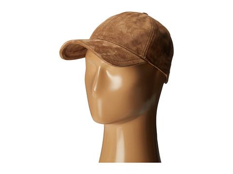 rag & bone Marilyn Baseball Cap - Camel Suede
