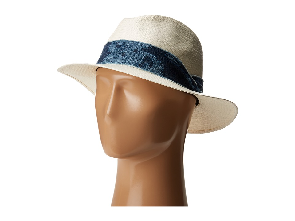 rag & bone - Panama Hat (White Etch) Traditional Hats