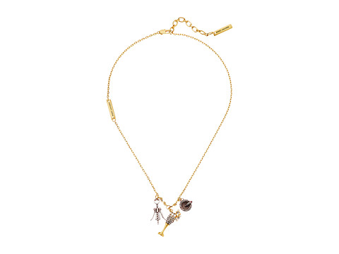 Marc Jacobs Champagne Party Necklace