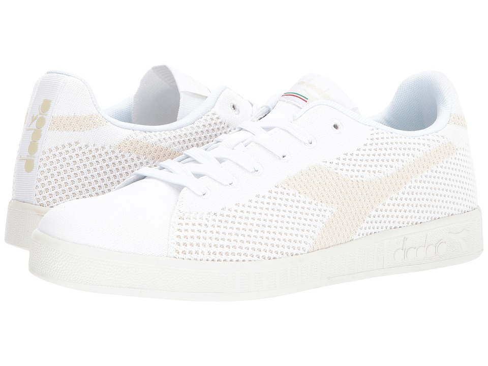 Diadora Game Weave (Bianco) Athletic Shoes