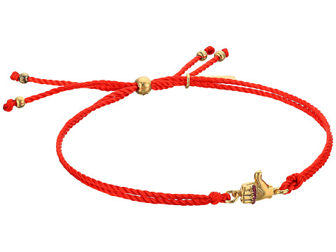 Marc Jacobs Something Special Thumbs Up Friendship Bracelet - Gold