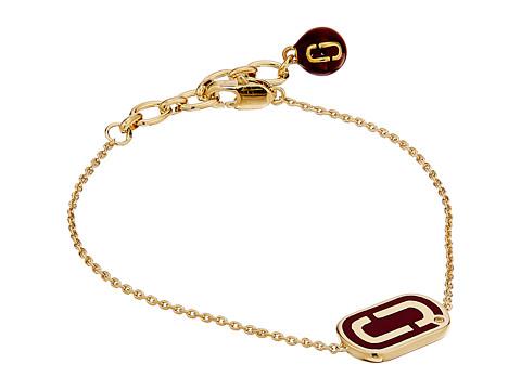 Marc Jacobs Icon Enamel Bracelet - Deep Bordeaux