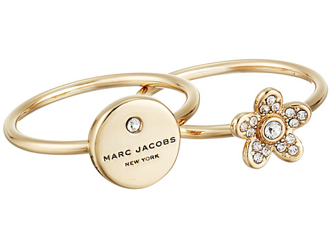 Marc Jacobs MJ Coin Charm Ring - Gold