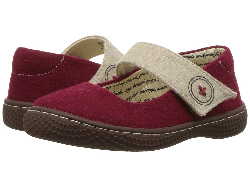 Livie & Luca - Carta II (Toddler/Little Kid) (Dark Red) Girls Shoes