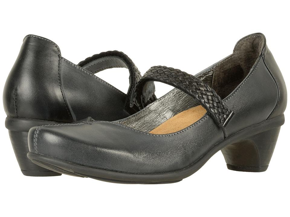 Naot Footwear Forward (Vintage Ash Leather/Black Raven Leather) Women
