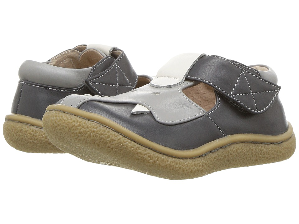 Livie & Luca - Elephant (Infant/Toddler) (Gray) Boys Shoes