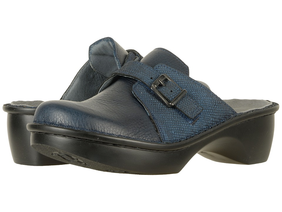 Naot Footwear Avignon (Ink Leather/Navy Reptile Leather) Women