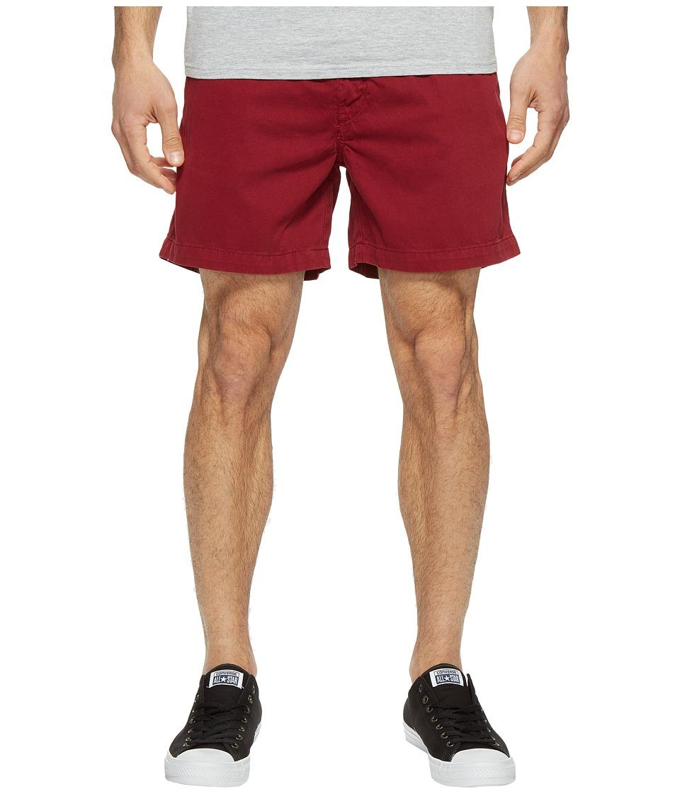 Vintage 1946 - Snappers Vintage Washed Elastic Waistband Shorts