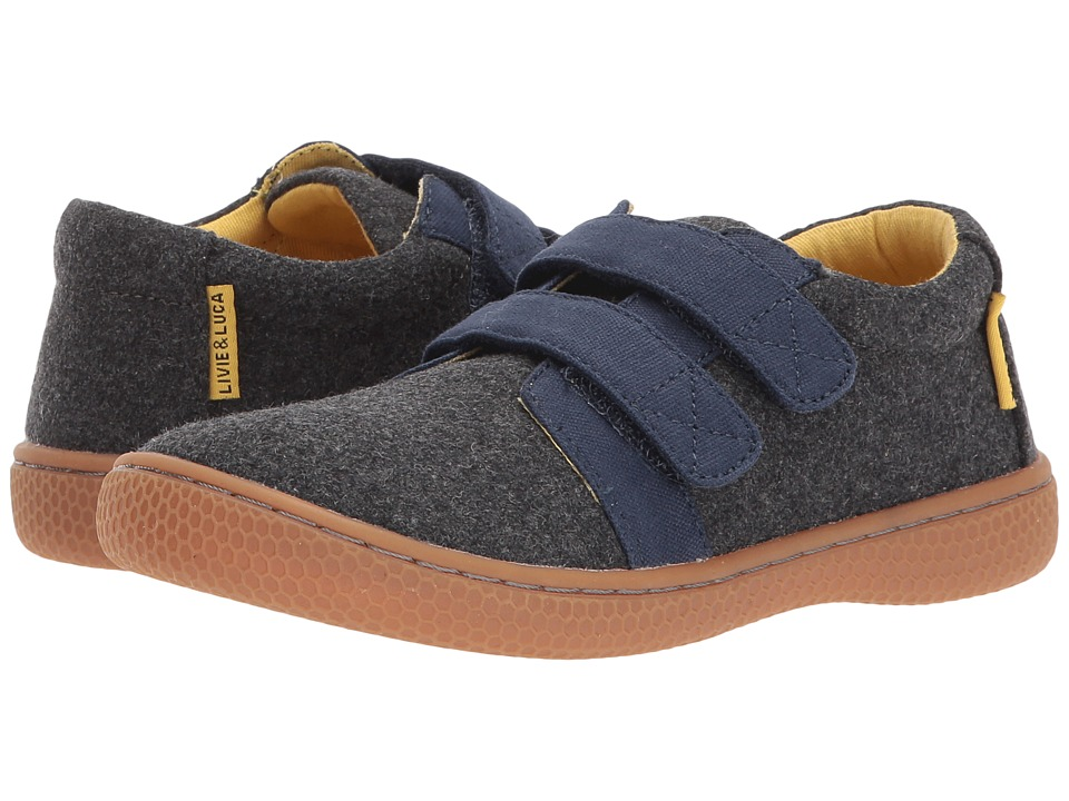 Livie & Luca - Hayes (Little Kid) (Charcoal) Boys Shoes