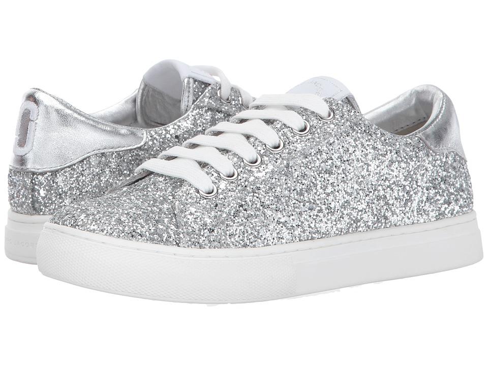 Marc Jacobs Empire Low Top Sneaker (Silver) Women