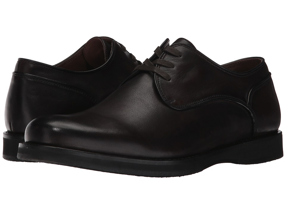 John Varvatos Brooklyn Derby (Dark Brown) Men