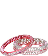 Marc Jacobs - Glitter Crystal Bangle St of 3